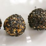 Honey walnut sesame balls